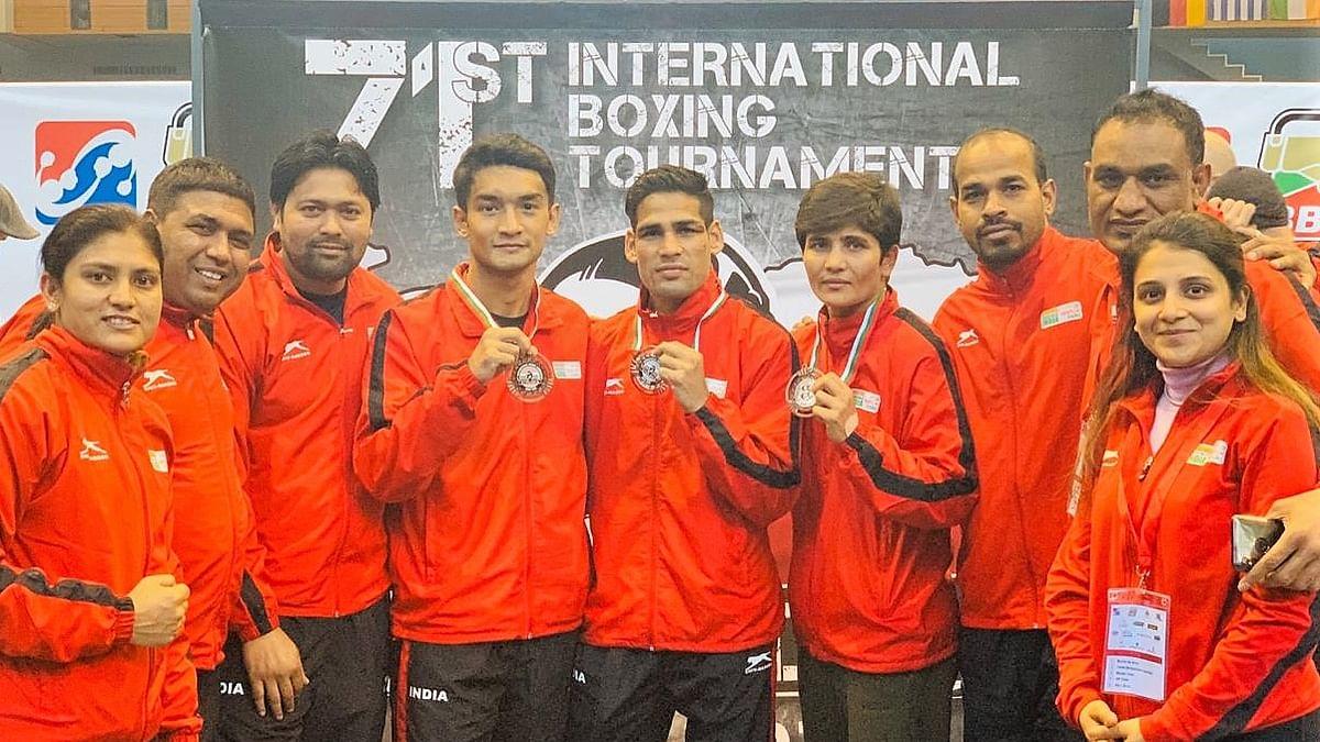 Boxing: Hussamuddin clinches silver; Shiva Thapa and Sonia Lather claim bronze