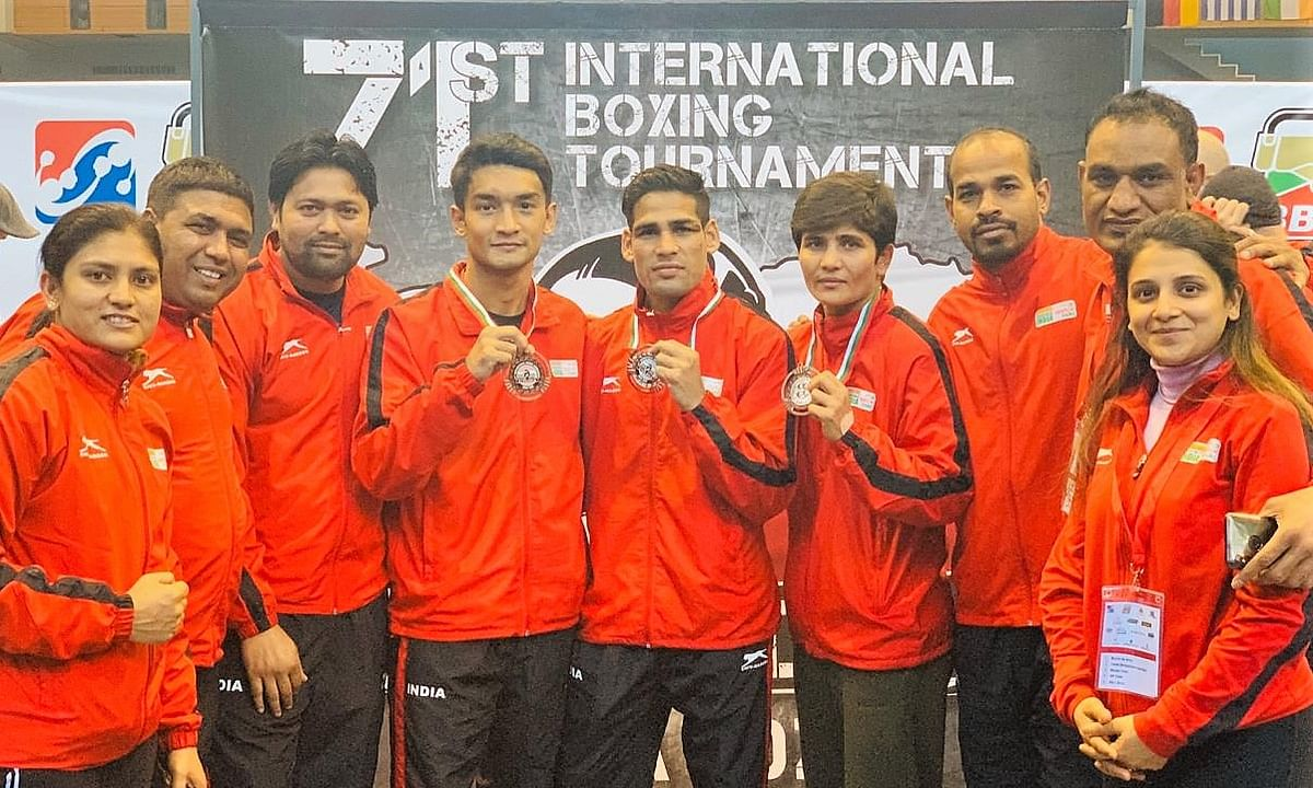Boxing: Hussamuddin clinches silver; Shiva Thapa and Sonia Lather claim bronze