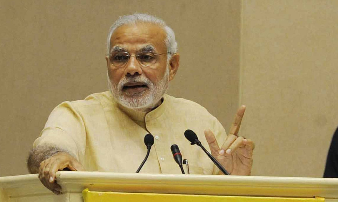Modi talks to leaders of neighbouring countries on New Year