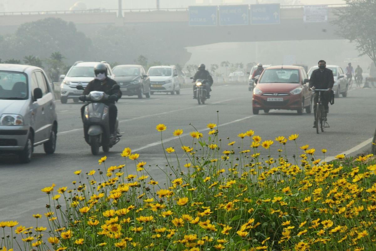 File photo of a winter morning in Delhi
