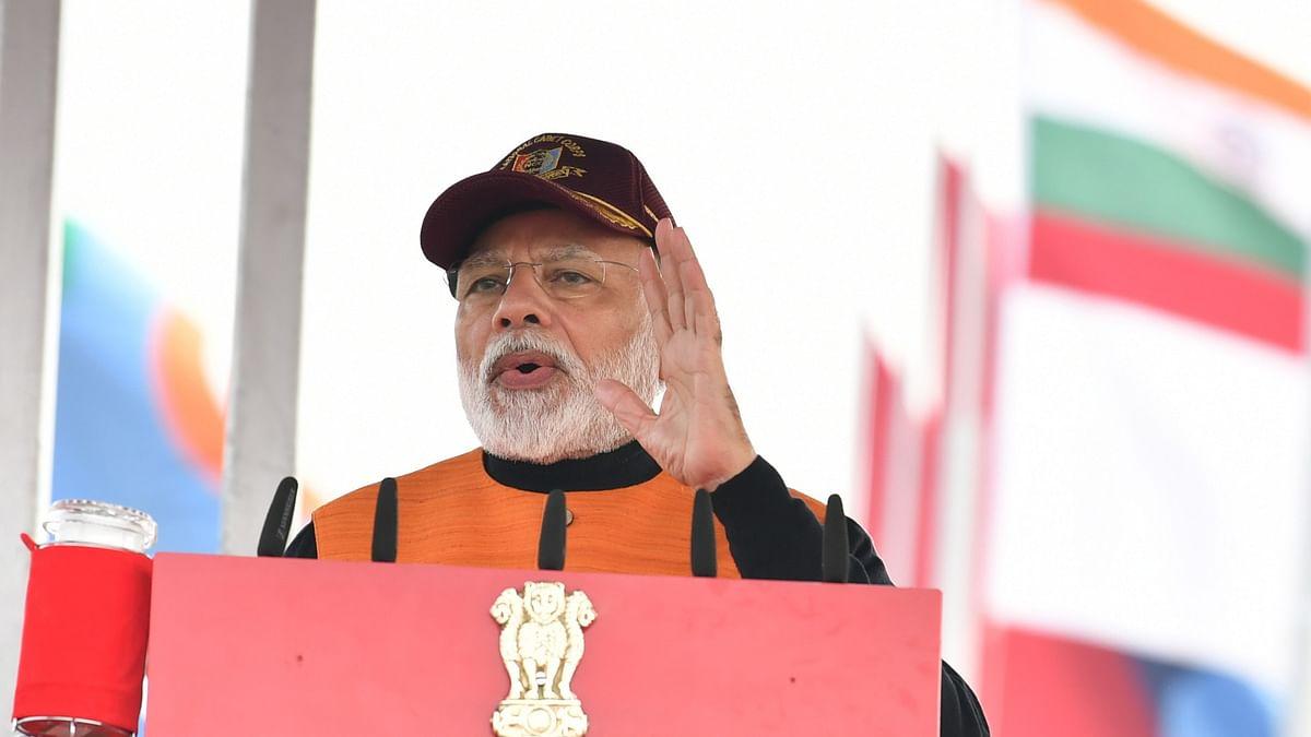 Modi terms Jammu & Kashmir as the crown of India