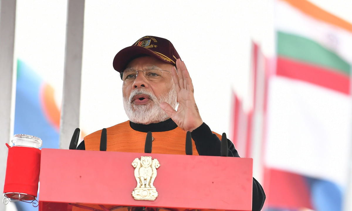 Modi terms Jammu & Kashmir as the crown of India