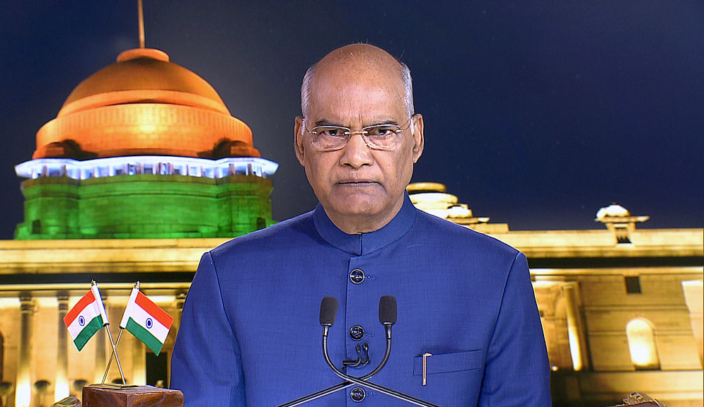 File photo of President Ram Nath Kovind