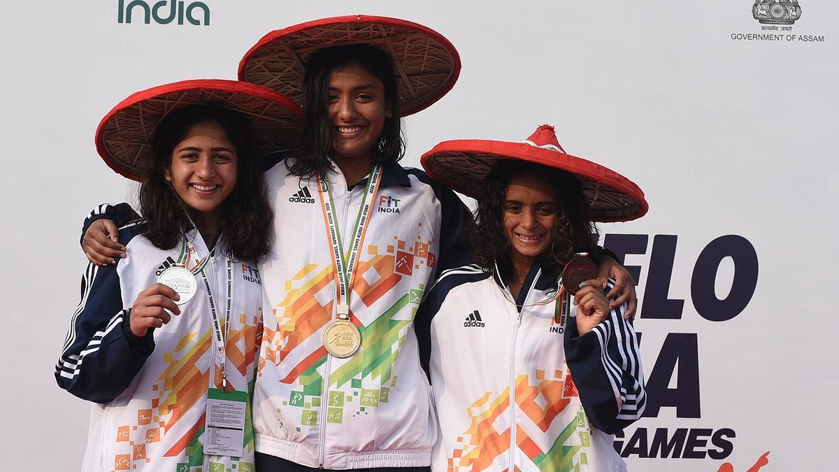 Soubrity Mondal shines with triple gold, Maharashtra tops 200-medal mark