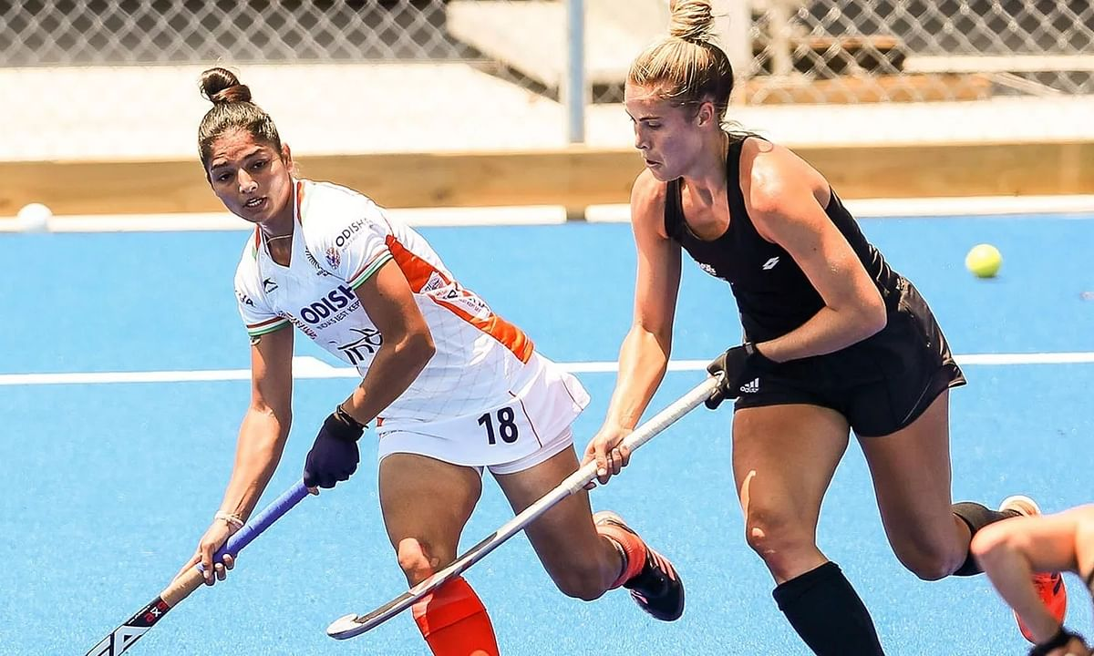 Indian Women's Hockey Team lose 1-2 to New Zealand