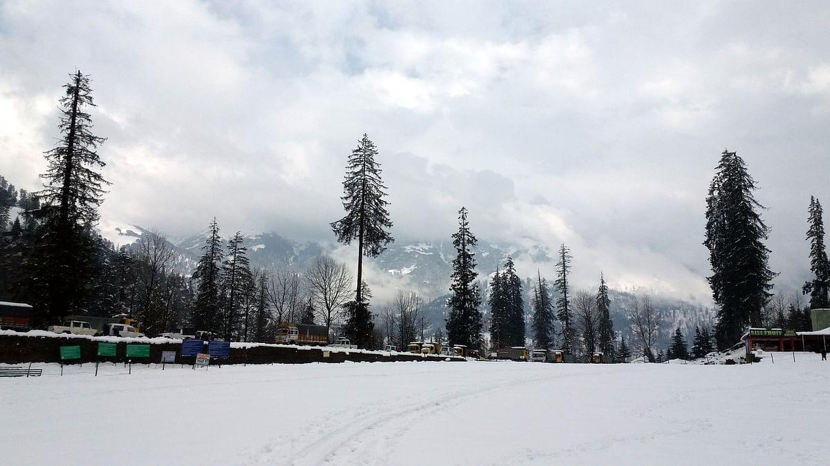File photo of Manali after snowfall