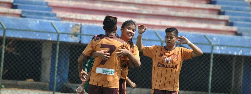 Women's football: Gokulam Kerala run riot against Kenkre