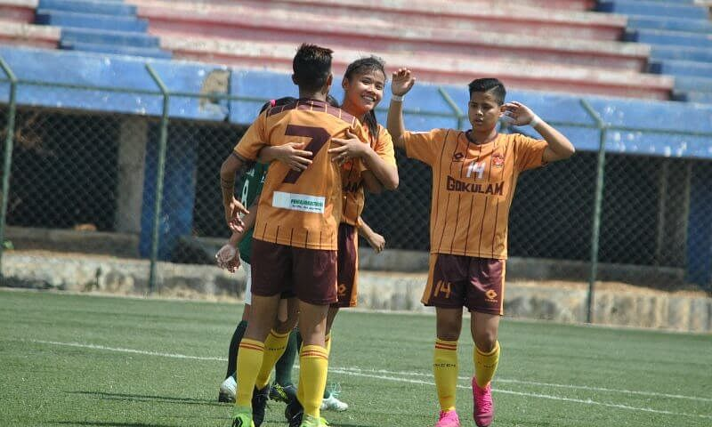 Women's football: Gokulam Kerala run riot against Kenkre
