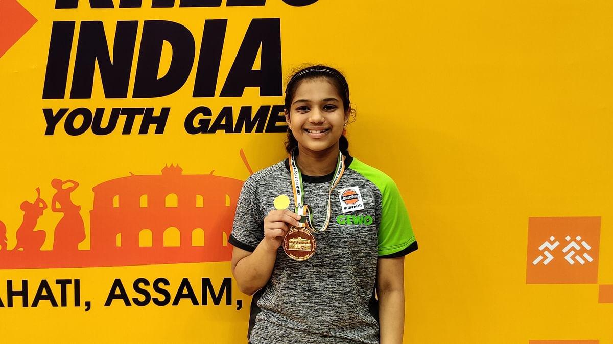 Maharashtra paddler Diya Chitale wins gold at Khelo India Youth Games