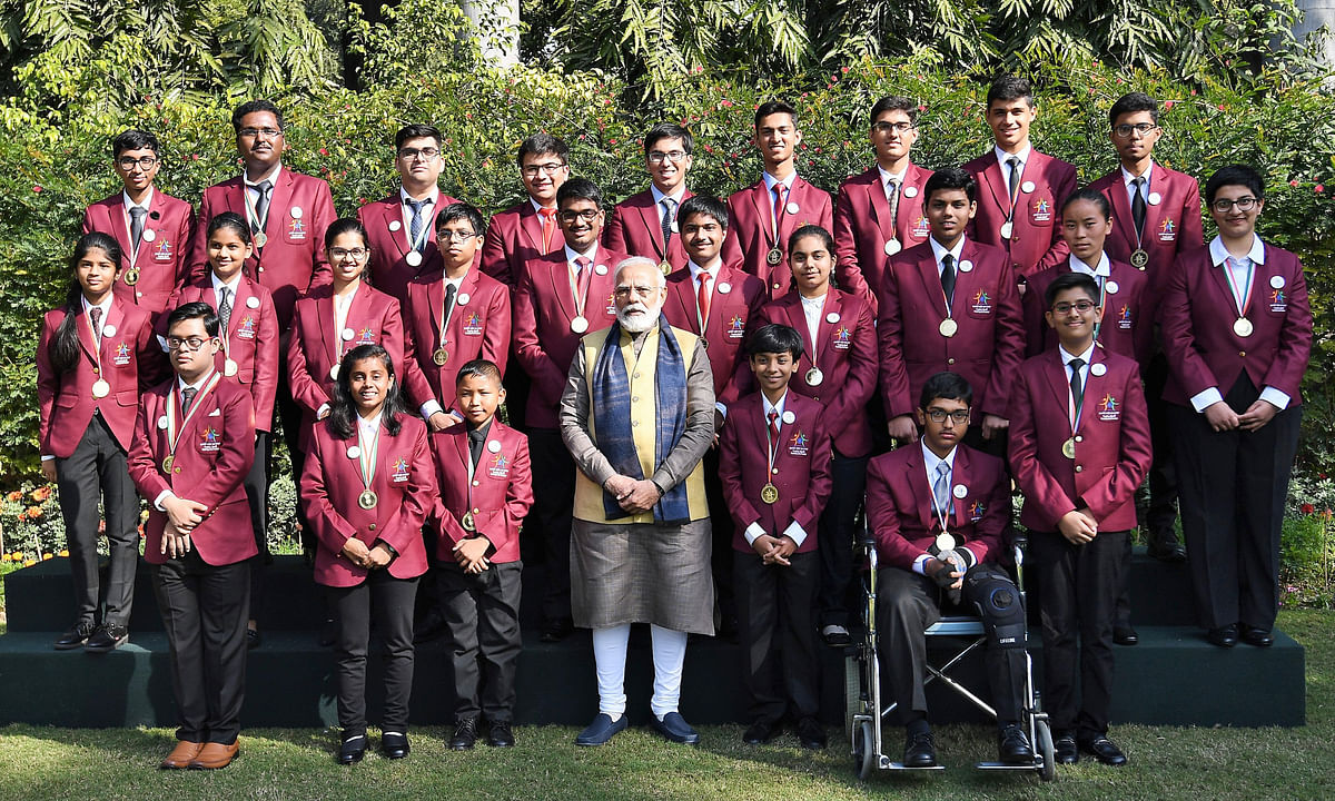 Modi interacts with recipients of Rashtriya Bal Puraskar, 2020