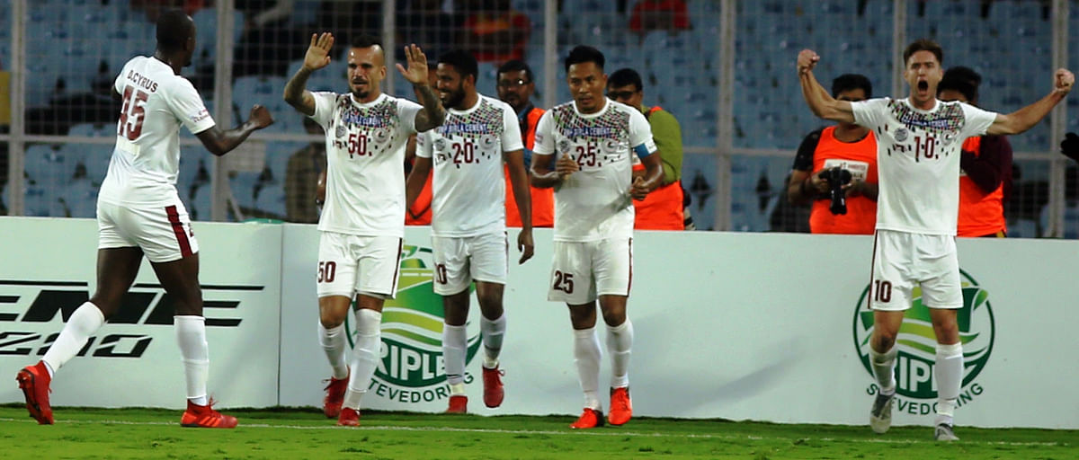 Mohun Bagan consolidate top spot with Derby win over East Bengal