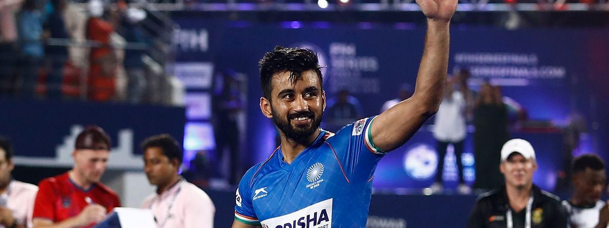 Indian hockey skipper Manpreet Singh