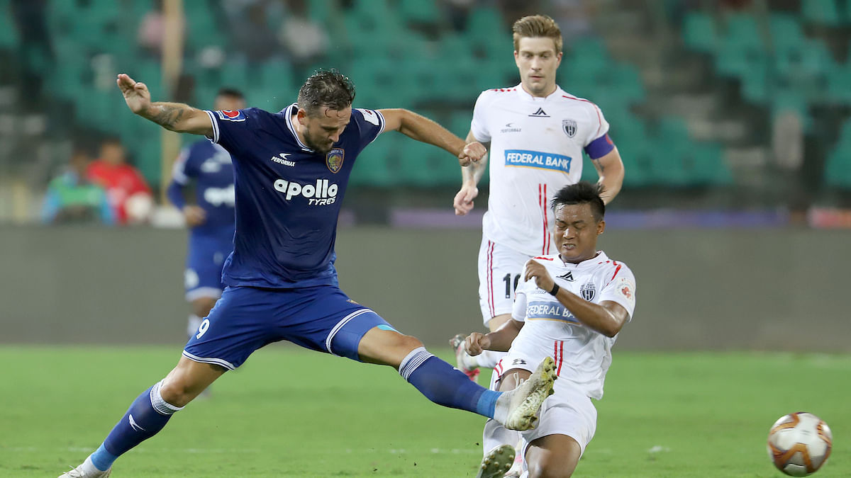 Football ISL: Chennaiyin hunt down NorthEast to move up to sixth