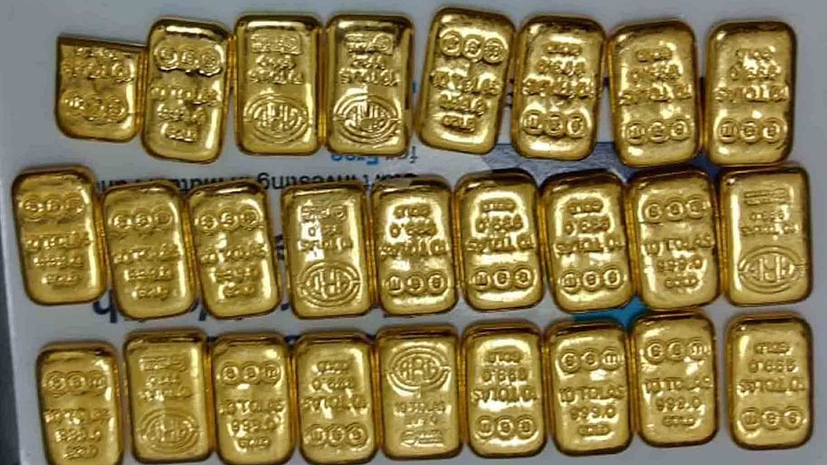 Smuggled gold worth Rs 10 lakh seized at Chennai airport