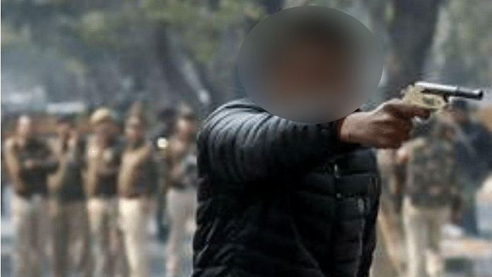 The youth who opened fire at an anti-CAA march conducted by Jamia Coordination Committee, injuring a student of Jamia Millia Islamia, in New Delhi on January 30, 2020. The attacker was apprehended by the police and the victim was admitted to a hospital.