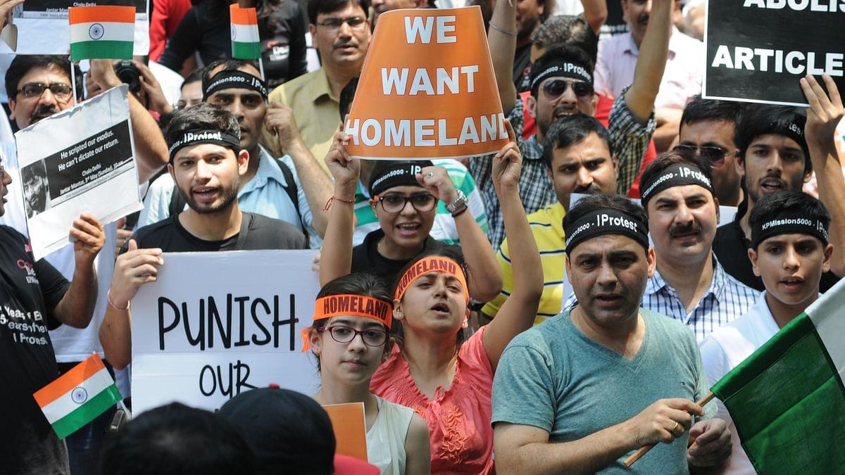 'We're coming back home,' declare Kashmiri Pandits