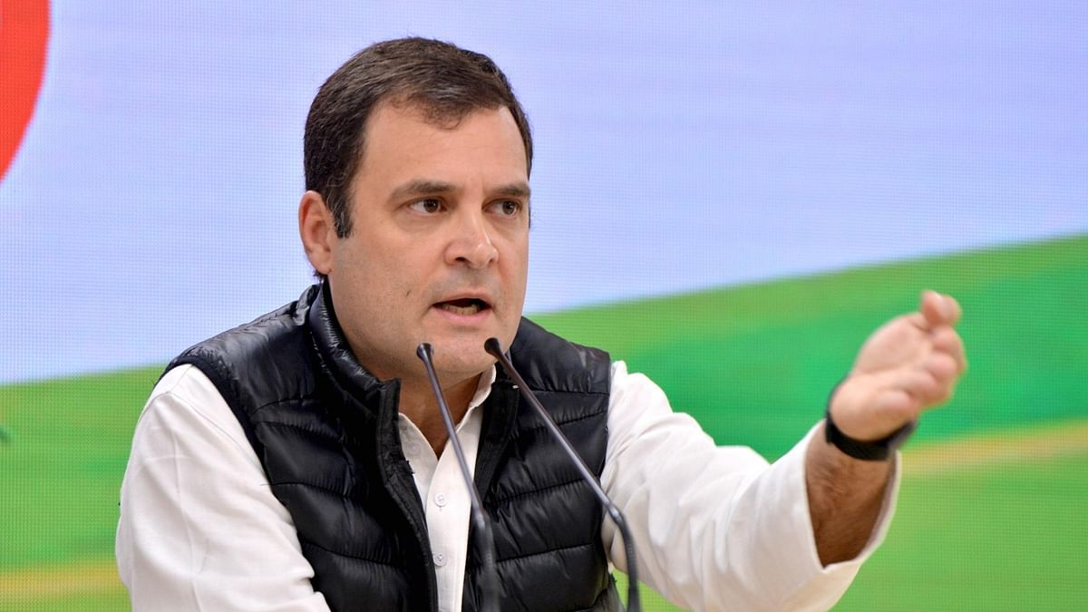 BJP has captured India's entire institutional framework: Rahul