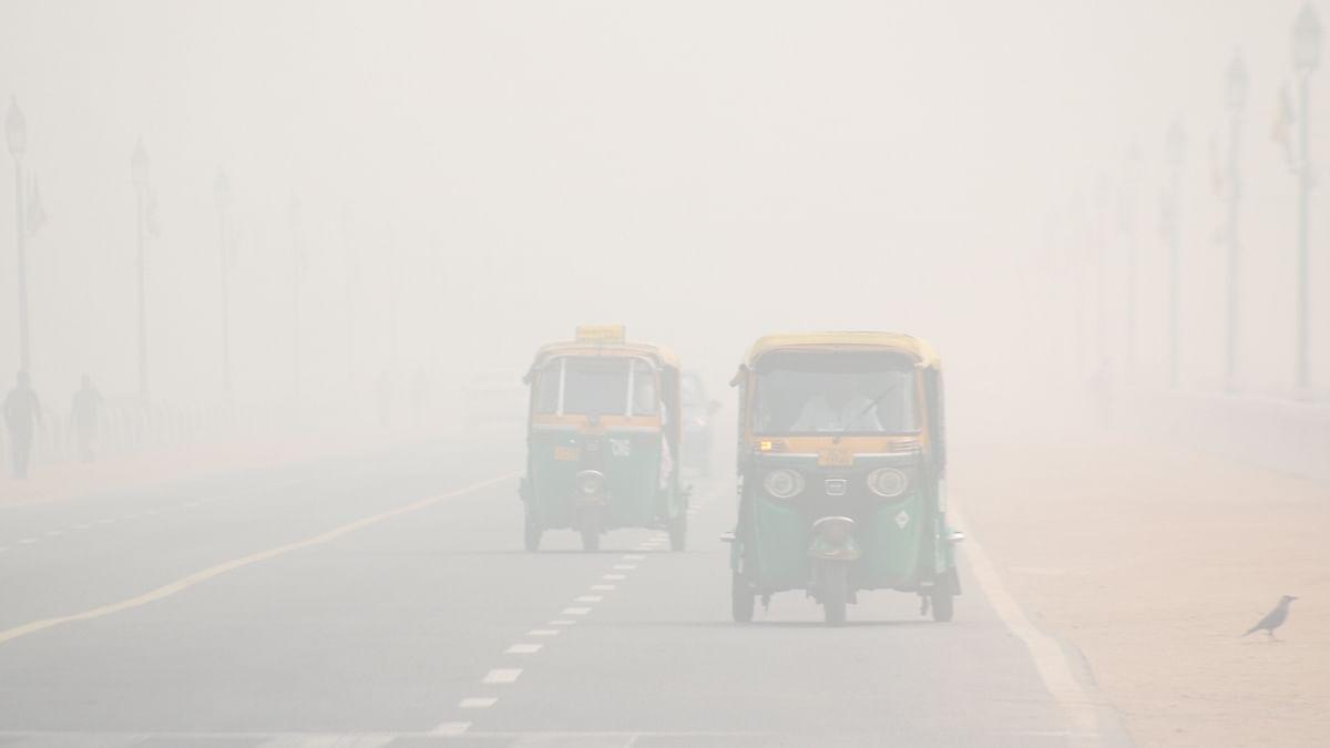 File photo of a foggy day in Delhi