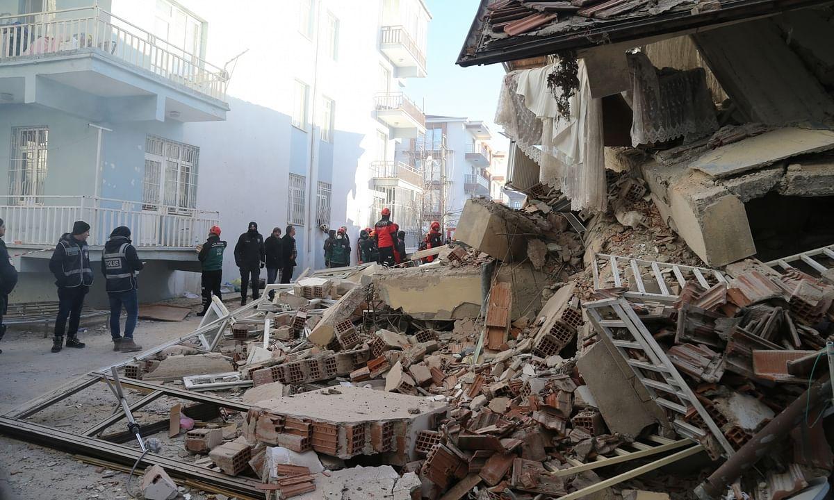 Turkey quake toll reaches 36, more than 1600 injured