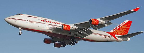 An Air India B747-400 aircraft