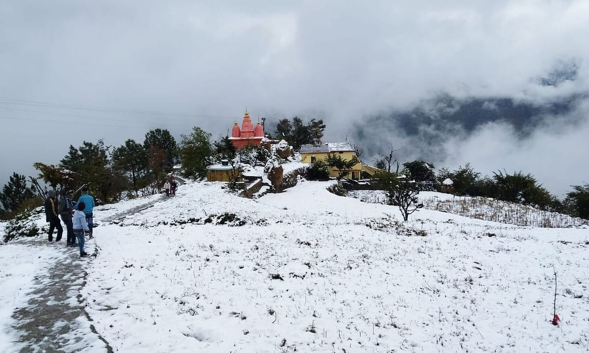 Heavy snow in Uttarakhand: Water supply, electricity disrupted