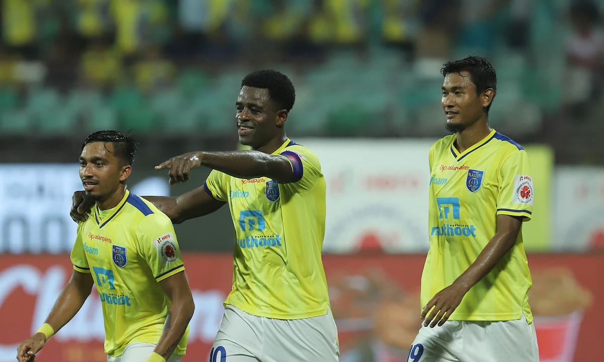 Football  ISL: Five-star Kerala end winless run in style