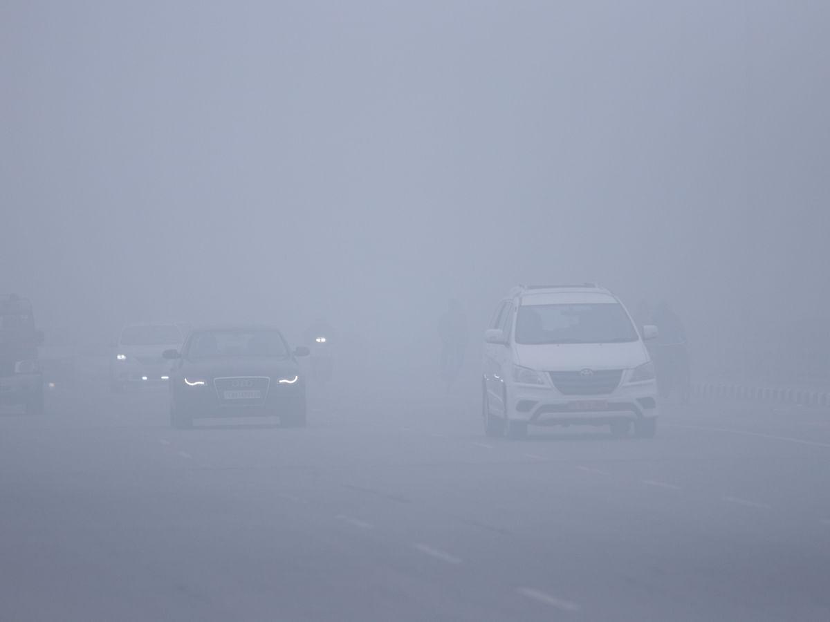 File photo of dense fog in Chandigarh