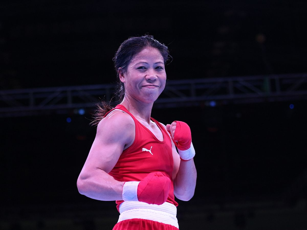 Mary Kom in quarter-finals of Olympic Qualifiers