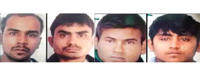 The four convicts in the Nirbhaya rape and murder case