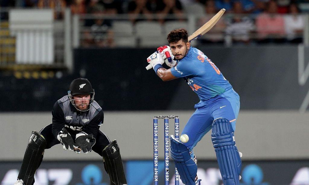 Shreyas Iyer's maiden ton helps India set 348-run target for NZ