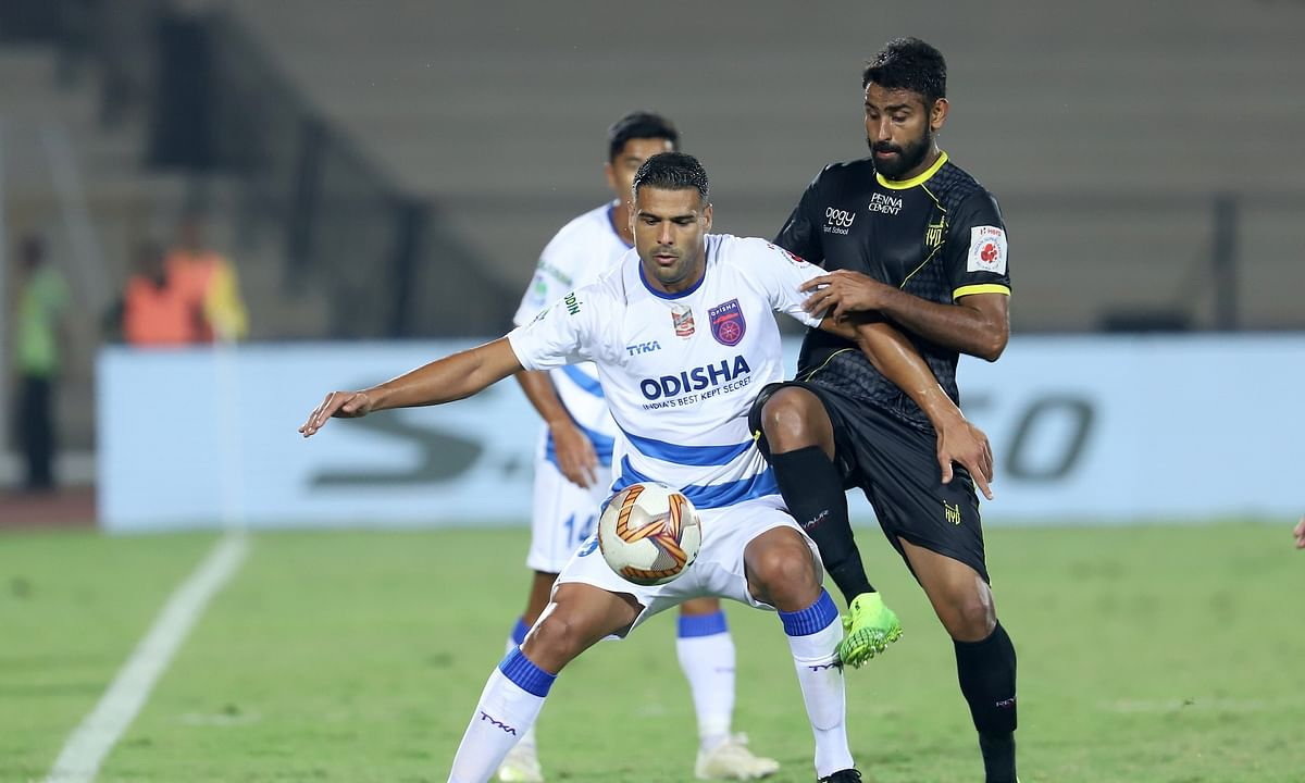 Football  ISL: Odisha press top four case with fourth consecutive win