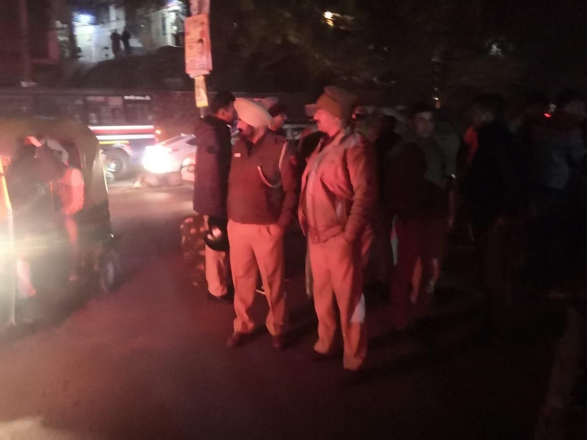 '30 minutes of pure terror': Reporter covering JNU violence