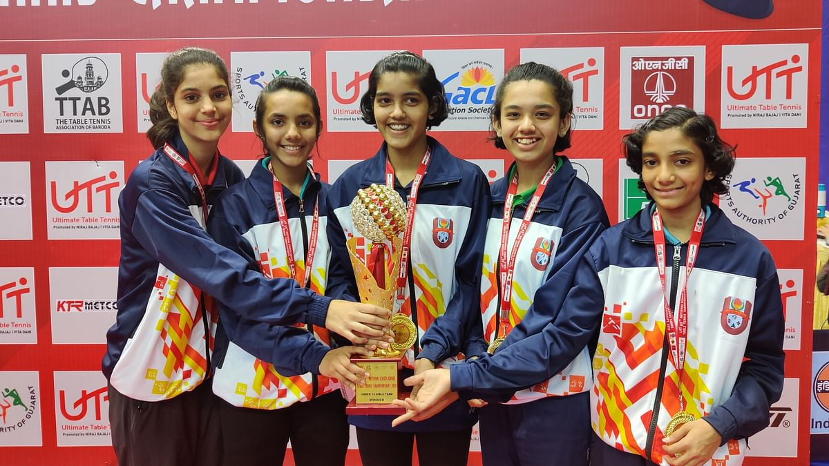 Maharashtra girls' team