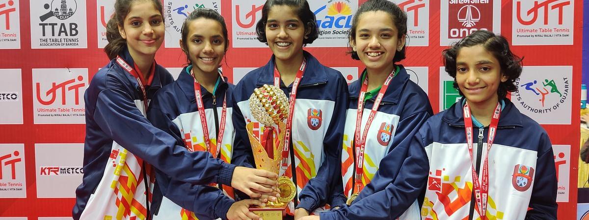 Maharashtra girls' team