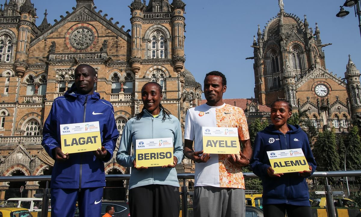 Defending champions Lagat, Alemu ready to do battle at Tata Mumbai Marathon
