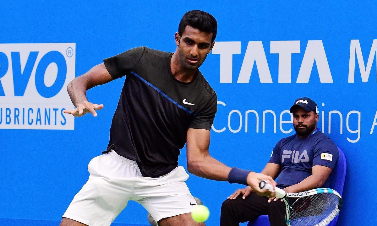 Prajnesh stuns Germany's Yannick Maden in opening round of Tata Open