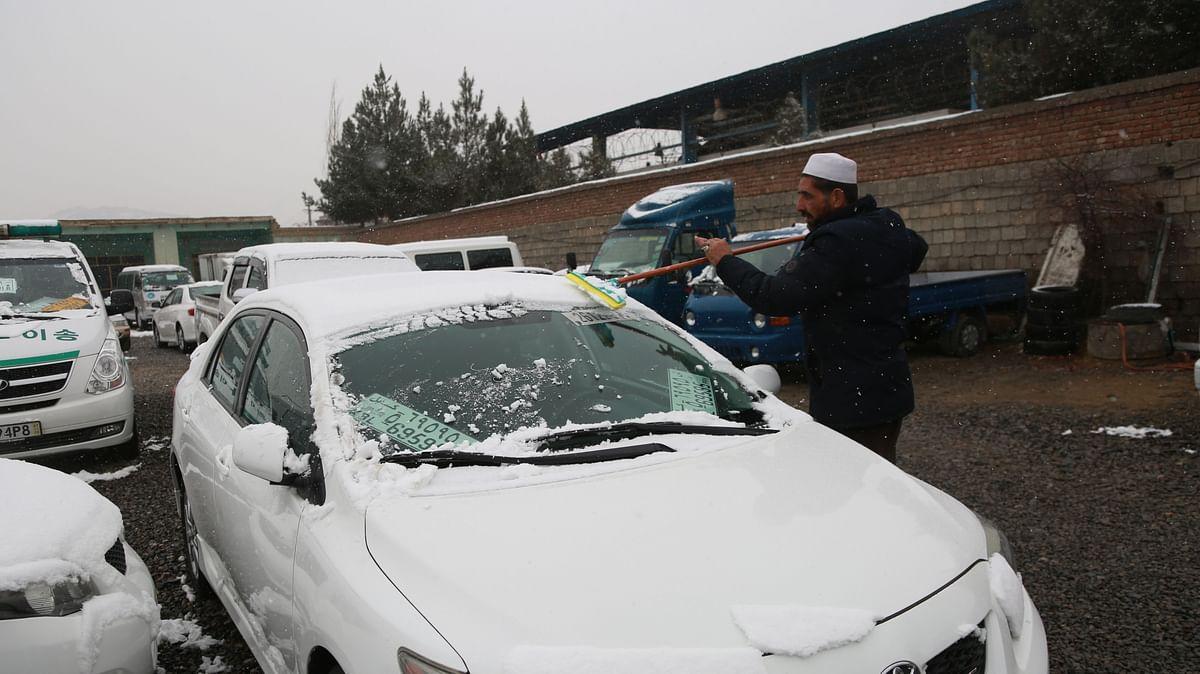 19 dead as heavy snow, rain hit Afghanistan