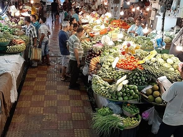 File photo of a vegetable market.