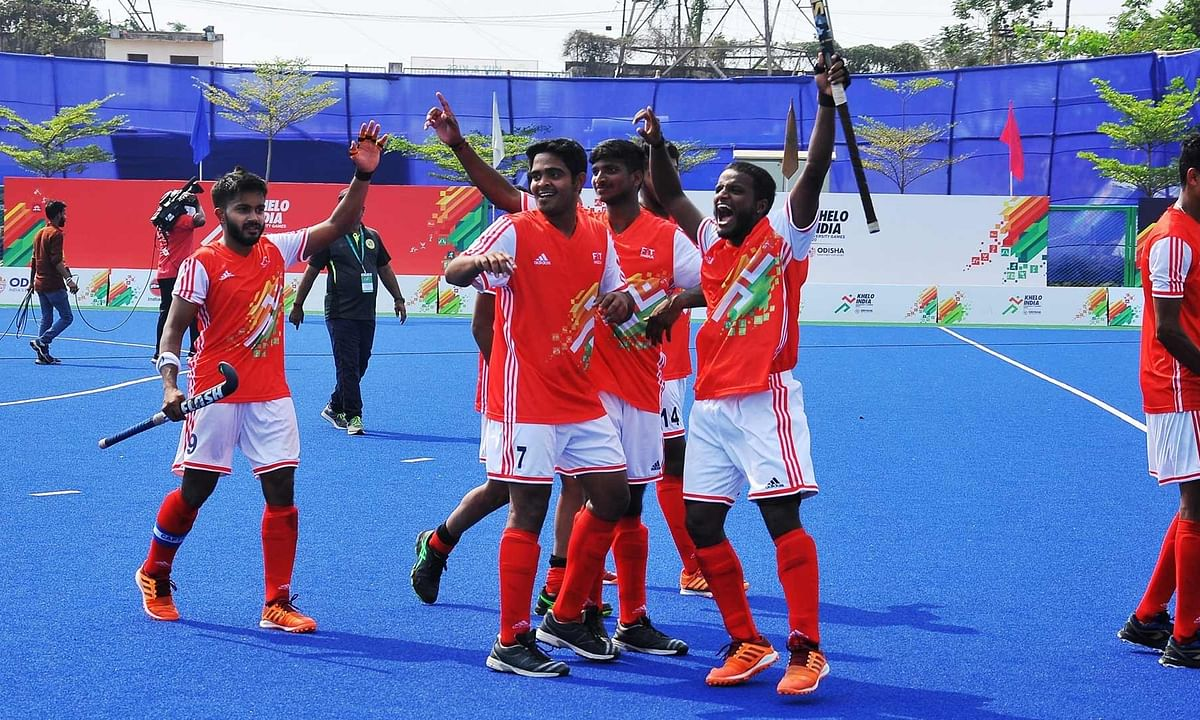 KIUG: Bangalore Central University beat Bangalore University in thrilling shoot-out to clinch gold