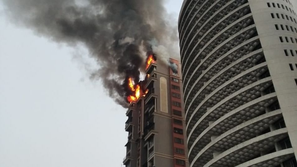Blaze in Navi Mumbai high-rise doused, no casualties