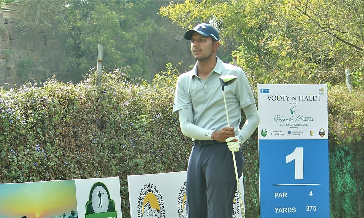 Golf: Ahlawat fires 66 in round 3, leads by one over Mane in Golconda Masters