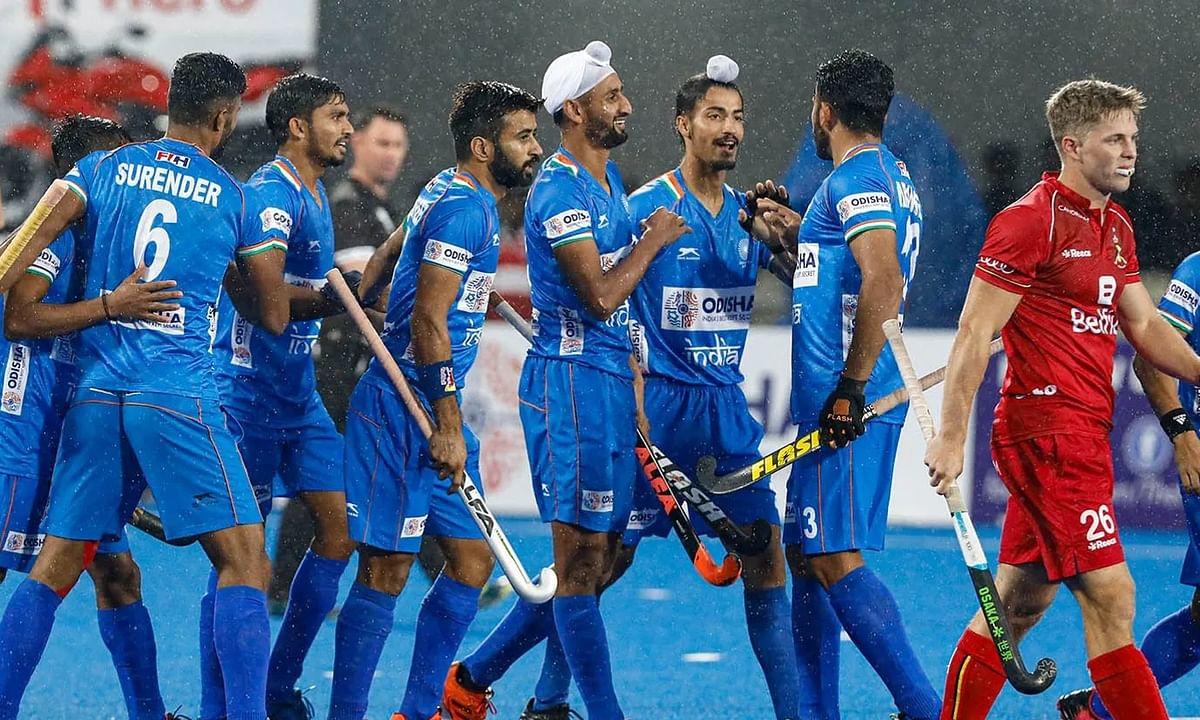 Hockey: India stuns World No. 1 Belgium 2-1