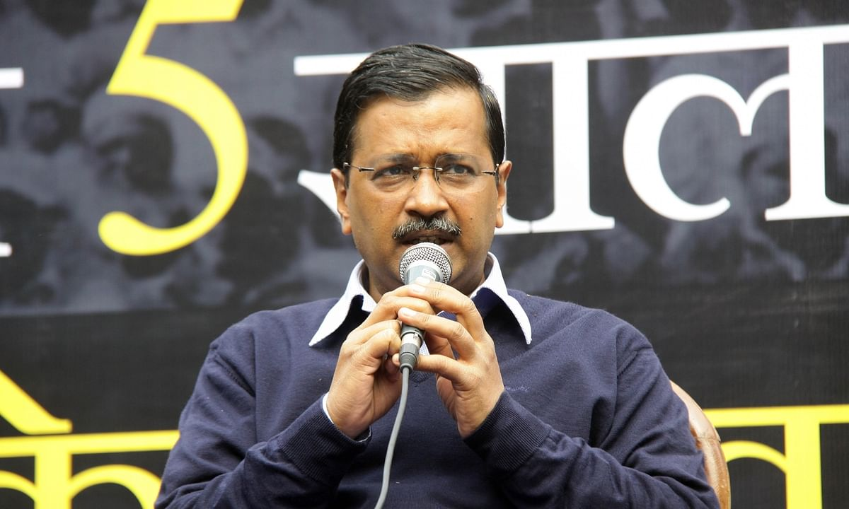 Arvind Kejriwal takes oath as Chief Minister of Delhi
