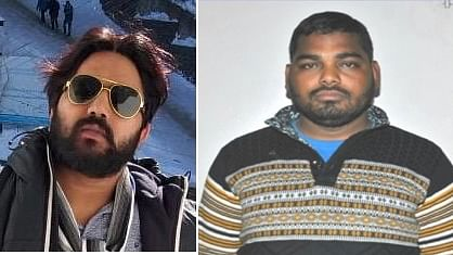 Raja Qureshi and Ramesh Bahadur who were killed an encounter with police in Delhi's Prahladpur near Badarpur on February 17, 2020.