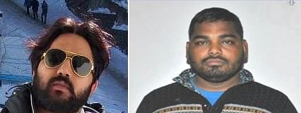 Raja Qureshi and Ramesh Bahadur who were killed an encounter with police in Delhi's Prahladpur near Badarpur on February 17, 2020.