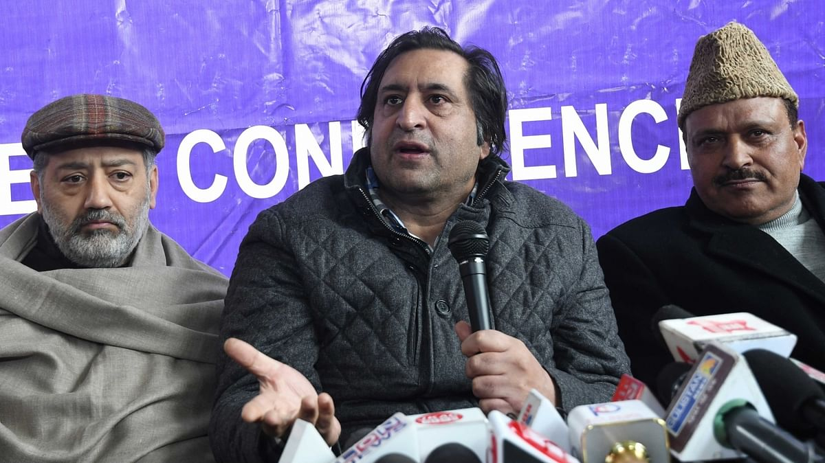 Sajad Lone among two more leaders released in Valley