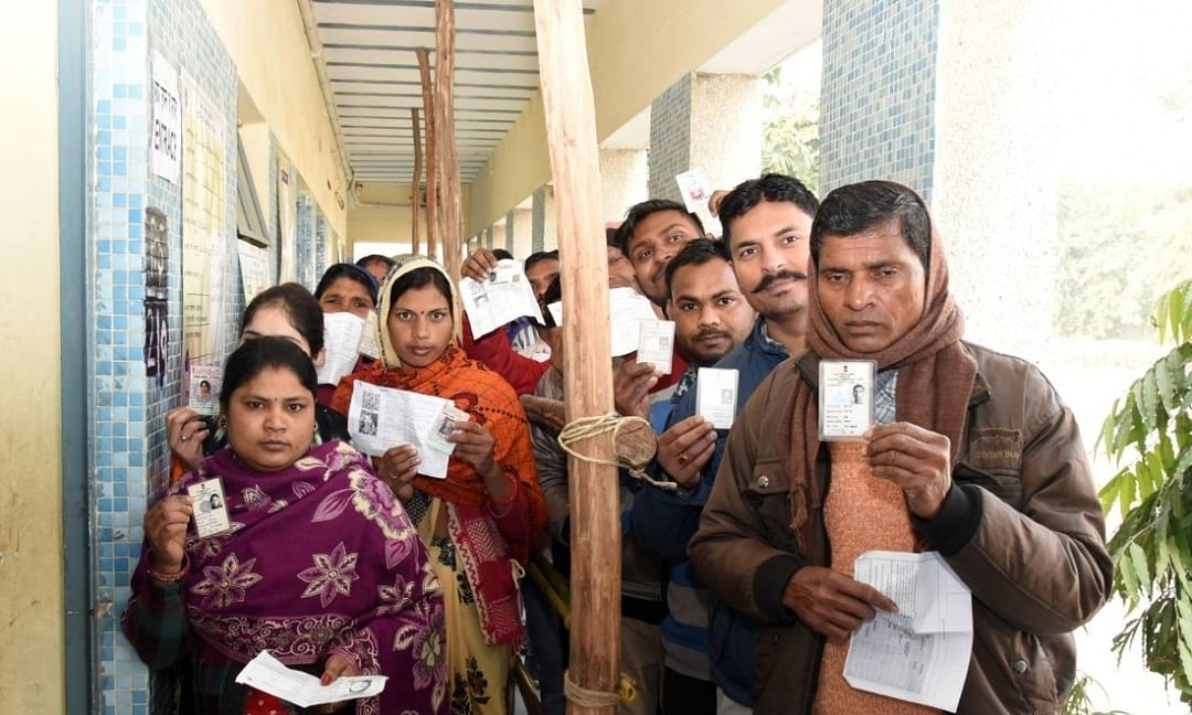 17.26% voting till 1 pm in Delhi Assembly polls