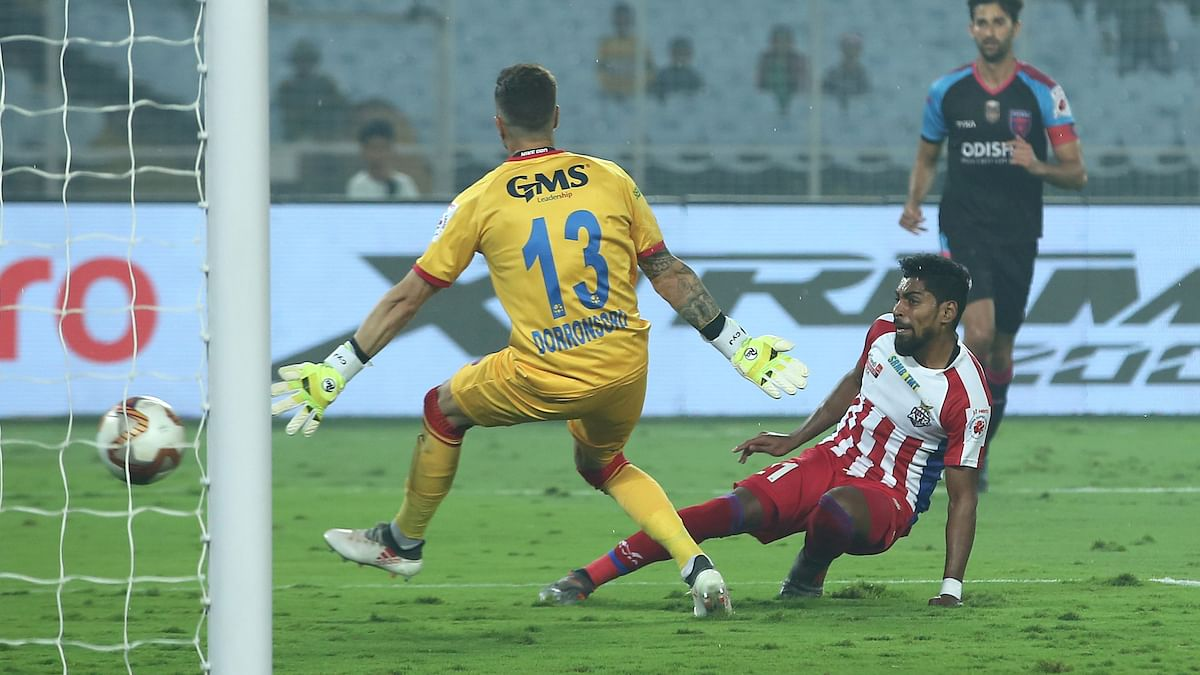 Football ISL: Krishna's hat-trick confirms playoff berth for ATK in style