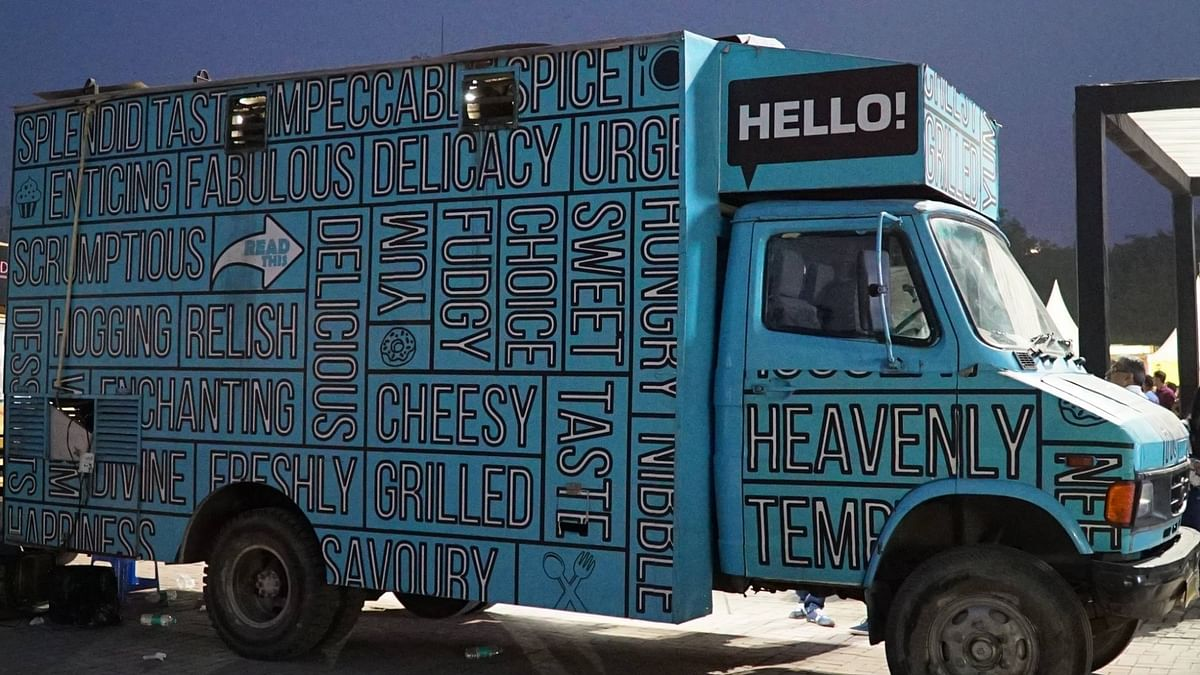 File photo of a food truck in Delhi
