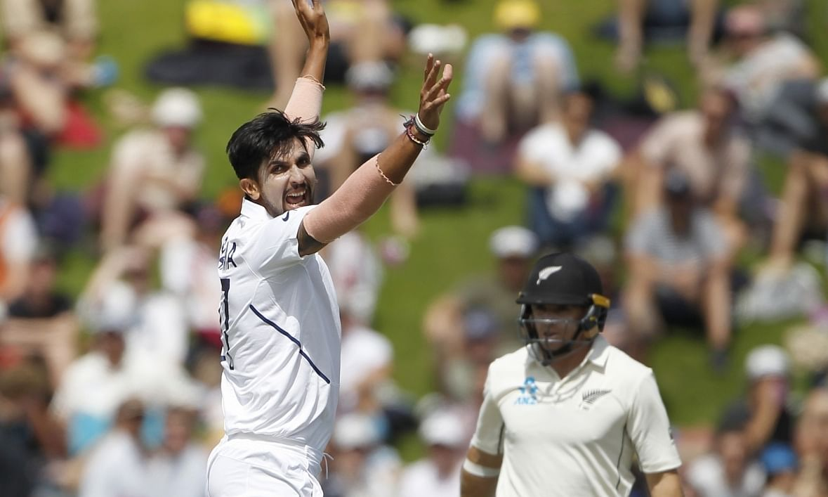 Wellington Test: Ishant grabs five but NZ take lead to 183